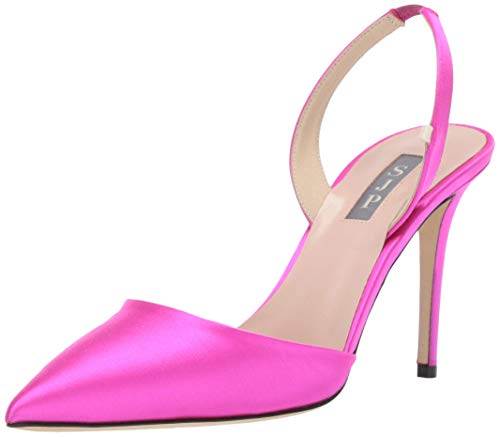 SJP by Sarah Jessica Parker Women's Bliss 90 Pointed Toe Sling-Back Pump Candy 40 M EU (9.5 US)