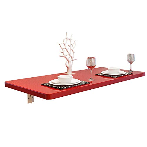 X-L-H Folding Wand-Küche Und Esstischen Zu Hause Auszieht Schreibtisch Tisch Schreibtisch Computertisch Abstellfläche Halterung (größe : 120 * 30CM)