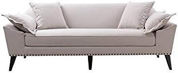Jennifer Taylor Home 63400-3-888 Remington Mid-Century Tuxedo Sofa