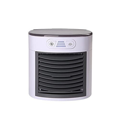 DOUYUAN USB Mini Aire Acondicionado portátil Aire Cooler Ventilador Espacio de Escritorio Espacio Personal Espacio Personal Ventilador de enfriamiento de Aire para casa casa # H3