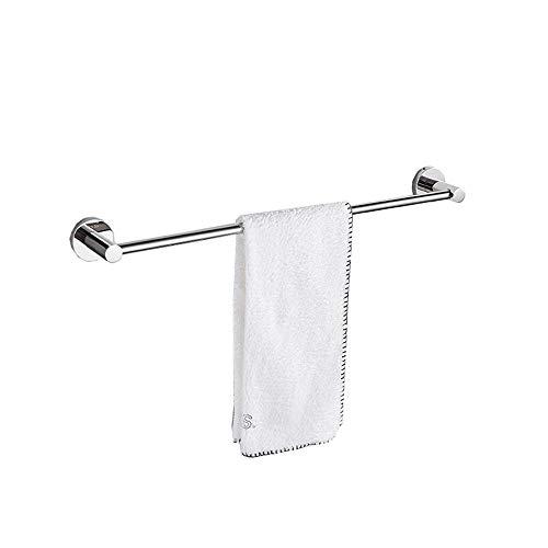 WLVG Barra de Toalla de Acero Inoxidable/Revestimiento de Superficie de Espejo/Toallas de baño para Ducha Barra para Colgar/Barra única/Las Dimensiones del Producto Son 44/54/64 cm Toalle
