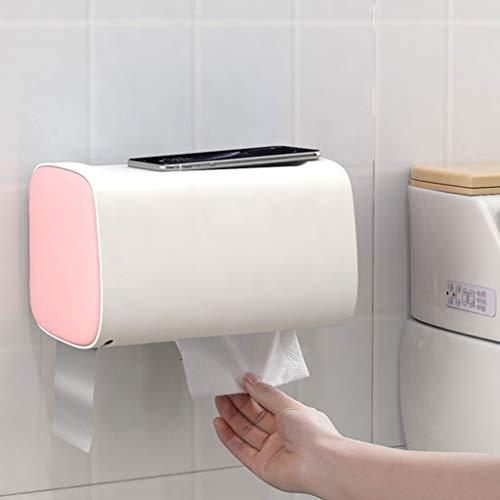 UCYG Wandmontage Papierhandtuchhalter, Papierhandtuchspender, Wasserdicht Bad Papierhandtuchhalter, Geeignet for Badezimmerschrank...