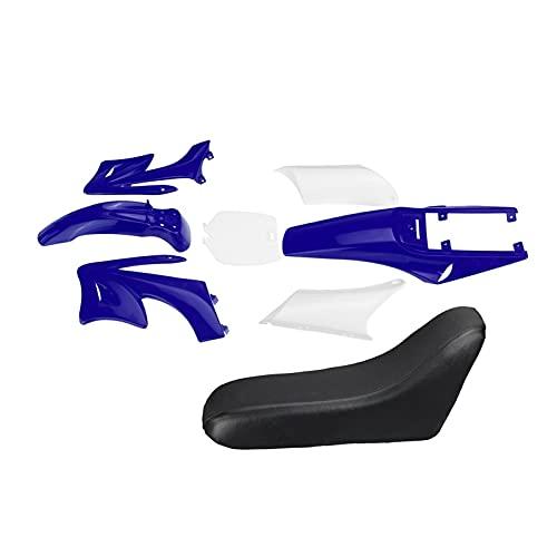 Reunion 8 stücke Kunststoffverkleidung Körper Kits Fit für 47 49cc Motor 2 Schlaganfall für Apollo Fit Für Orion Kids Schmutz Pocket Bike Minimoto Teile (Color : Blue)
