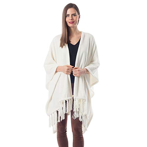 ShopBedding Gift for Mom Fleece Wearable Throw Poncho - Throw Blanket Fringed...