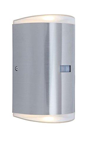 LUTEC buitenlamp Path, metaal, zilver, 27,5 x 21 x 24 cm