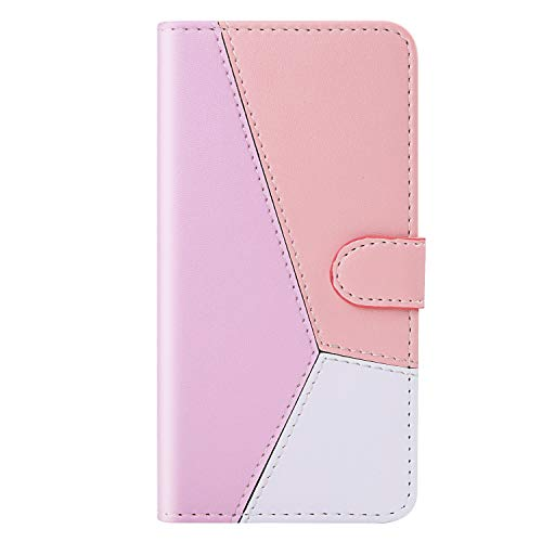 For Sale! Miagon Splice Contrast Color Case for Samsung Galaxy S8,Shockproof PU Leather Flip Wallet ...