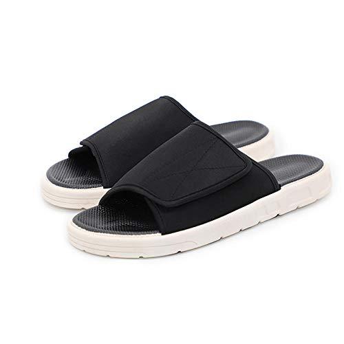 Cxypeng Zapatilla Ancho Especial Mujer Velcro,Zapatillas de Desgaste de Fondo Suave engrosadas...