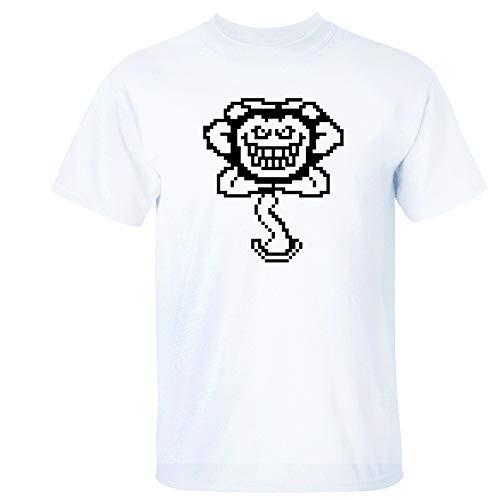 Unisexo Anime Juego Logo Impresión Camisetas Novedad Gracioso Cuello Redondo Camisetas Moda Película Cosplay Tops Flojo Informal Manga Corta para Mujer Hombres Niña Chico Niños,1,XXXL