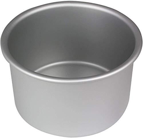 PME RND064 Eloxierte Aluminium Rundkuchenform 6 x 4 Zoll tief, Silver, 15.2 cm