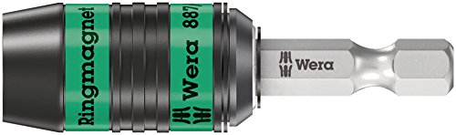 Wera 887/4 RR SB Rapidaptor Universalhalter mit Ringmagnet, 1/4 Zoll x 57 mm, 05073511001