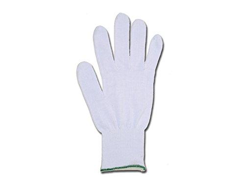 GIMA 25865 Guanti in Cotone, Bianco, 7, Confezione 10 Pezzi