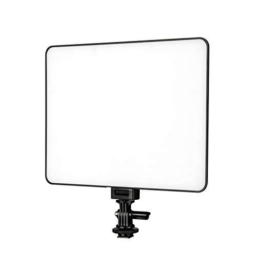 VILTROX プロ超薄型 LEDビデオライト VL-200T 撮影用ライト ビデオ撮影用 3300K-5600K色温度 輝度調節 2450LM CRI95+ スタジオ撮影 写真照明 撮影照明
