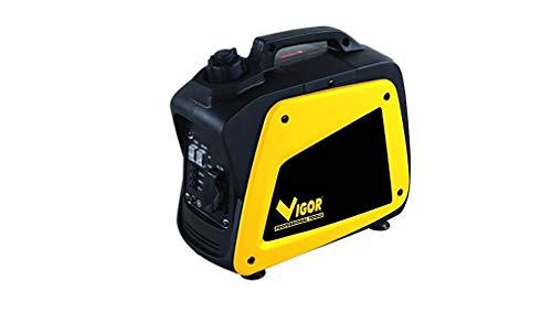Vigor VGI-1500 - Generador inversor, gasolina, 1.0 kW/ 1.2 kW máx.