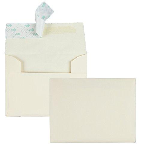 Quality Park Quality Park Ivory Greeting Card/Invite Envelopes (QUA10741)
