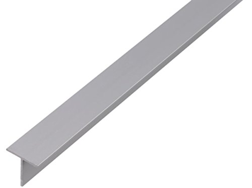 GAH-ALBERTS 464899 T-Profil-Aluminium, natur, 1000 x 35 x 35 mm