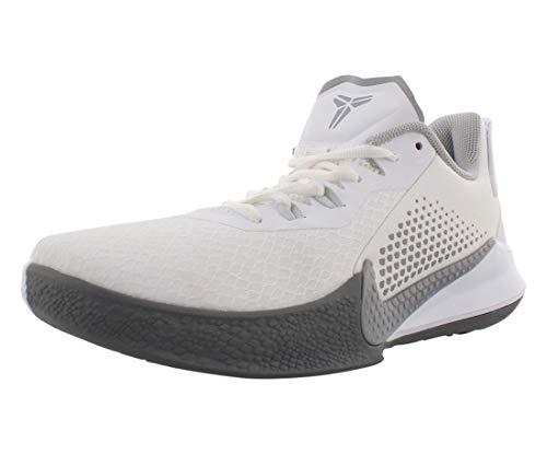 Nike Mamba Fury White/Wolf Grey/Pure Platinum/White Men's 9.5, Women's 11 Medium