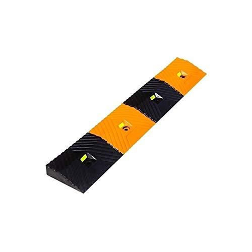 Xzg1-Rampe 4.3CM Stufenrampsen, rutschfeste Schwellenrampsen Für Den Außenbereich Rollstuhlrampsen Für Pflegeheime Im Krankenhaus Gummidreieck(Size:100 * 16.8 * 4.3CM)