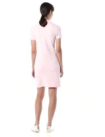 Lacoste Women's Short Sleeve Slim Fit Stretch Pique Polo Dress