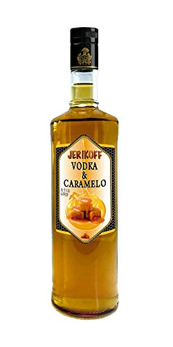 VODKA CARAMELO JERIKOFF 70 CL.