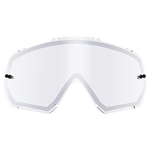O'neal Spare Double Lens Ersatzscheibe für B10 Goggle mirror silberfarben Oneal