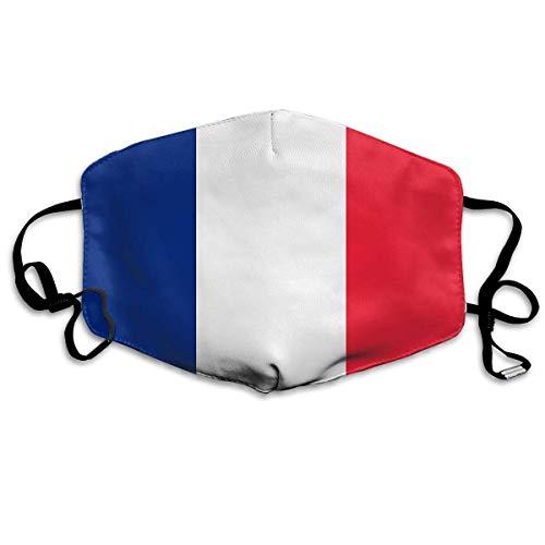 Facial Protection, France vlag mondbescherming, decoratieve neusafdekkingen ter bescherming tegen opslagruimte, 18 x 11 cm