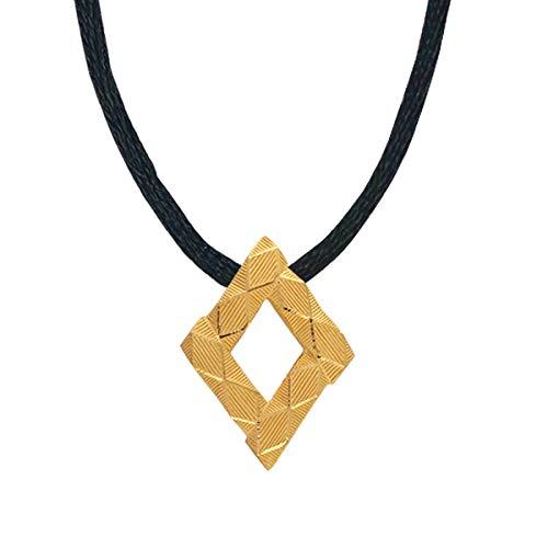 PRIMAGOLD(プリマゴールド) 純金 メンズ ダイヤカットペンダント(ネックレス紐付き) K24 24金ジュエリー