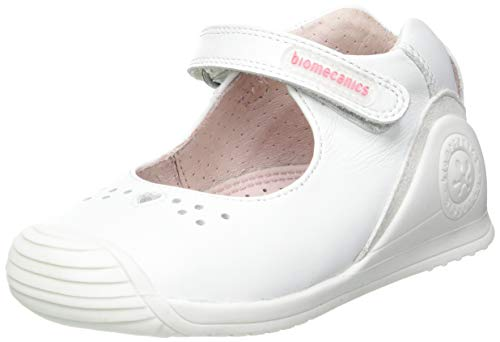 Biomecanics 212100-C, Zapatillas Niñas, Blanco (Sauvage 2), 23 EU