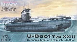 Unbekannt MPM sn72001 – Maqueta de alemán Submarino Tipo XXIII, vehículos de Agua