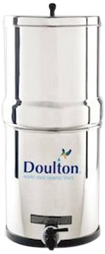 Doulton W9361122 Stainless Steel Gravity Water Filter System