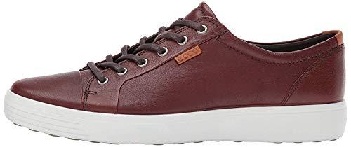Ecco Herren Soft 7 Men'S Low-Top Sneaker, Braun (1283WHISKY), 45 EU