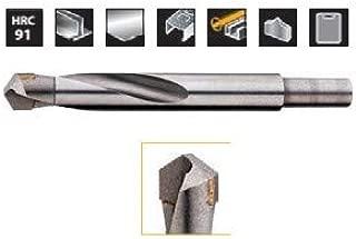 Broca espiral de acero r/ápido de di/ámetro DIN 338 punta de metal duro