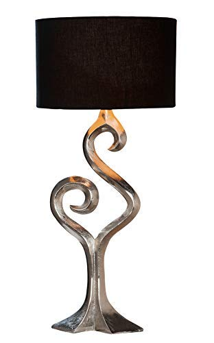GILDE Elegance Lampe Luma - Tischlampe aus Aluminium H 69 cm