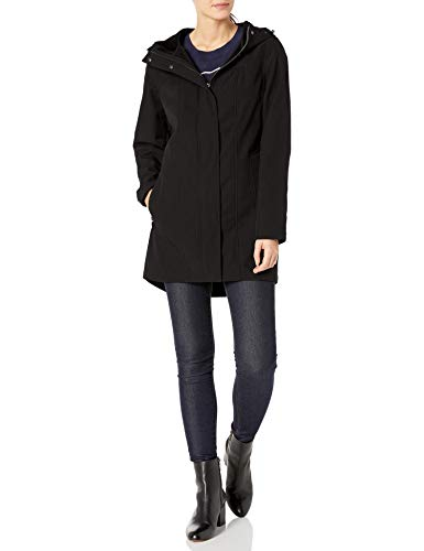 Kristen Blake Women's Soft Shell Jacket, Black, M