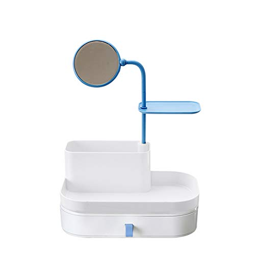Coffrets de maquillage Maquillage Boîte De Rangement pour Cosmétiques Boîte De Finition pour Miroir De Type Tiroir Boîte De Finition en Plastique Simple Petite Boîte Cosmétique Multicouche