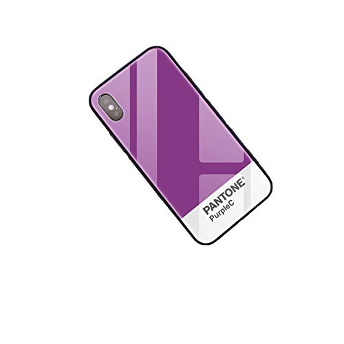 NDJqer DIY Glass Phone Case For iphone 11 Pro Max 6s 7Plus X Pantone Custom Tempered Glass Phone Cover-30228-For iphone 7 8
