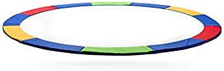 Rimdoc 12/14/15FT Trampoline Pad, PVC Trampoline Replacement Safety Pad,Waterproof Surround Edge Cover,Foam Round Frame Pad