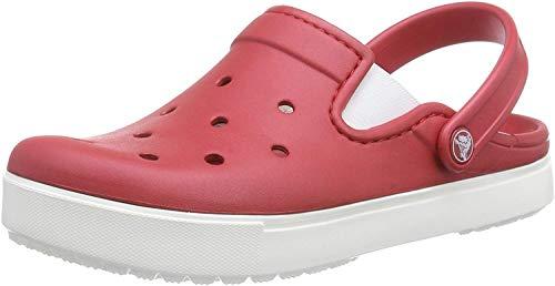 crocs Unisex-Erwachsene Citilane Clogs, Rouge (Pepper/White), 45/46 EU