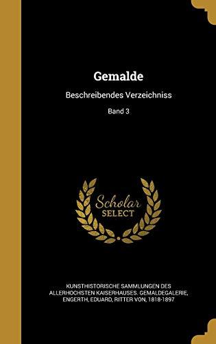 GER-GEMA LDE: Beschreibendes Verzeichniss; Band 3