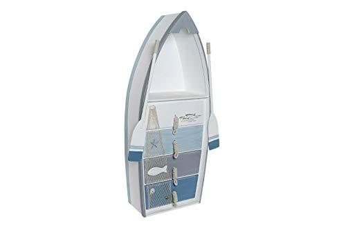 Item CASSETTIERA in Legno Mobile Design Comodino in Legno SETTIMINO Stile Marinaro
