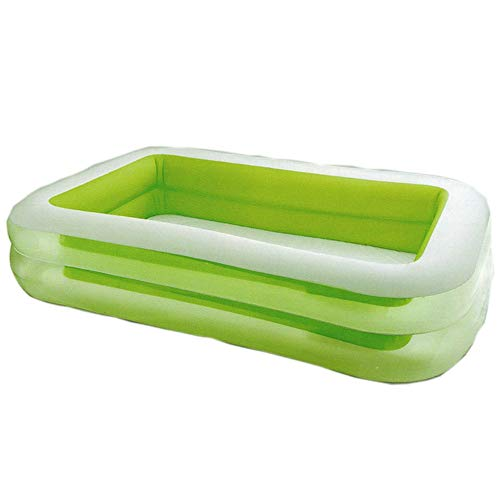 Find Bargain Zqtumimg Comfort Height Bath Tub Baby Water Park Bate Tub Inflatable Rectangular Family...
