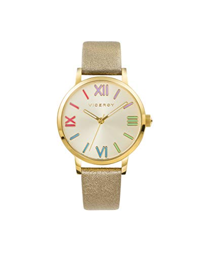 VICEROY - Reloj Acero IP Dorado Correa Sra Va - 471256-93