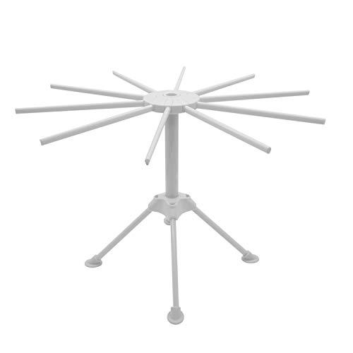 Anzirose Nudelständer ABS Kunststoff Pastatrockner Faltbar Pasta Drying Rack - Weiß