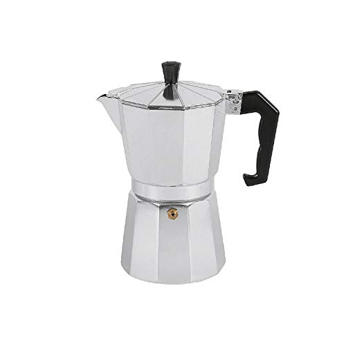 Nova CAFFETERIA MOKYTA Espressokocher 6 Tassen Alu
