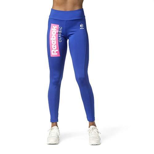 Reebok Donna Classic R Leggings Blu, L