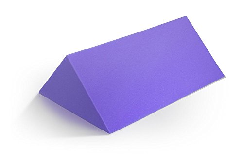 MediChoice Foam Body Alignment Wedge, 45 Degree Positioner, Disposable, Single Use, Purple, 1314P40415 (Each of 1)