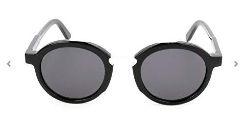 Ferragamo SF845S Gafas de Sol, Negro (Schwarz), 49.0 Unisex Adulto