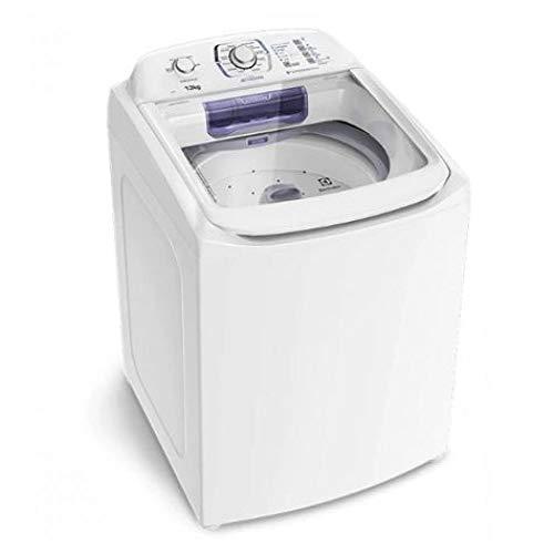 Lavadora Electrolux Branca com Dispenser Autolimpante e Tecnologia Jet & Clean (LAC13) - 110V