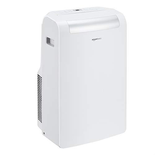 AmazonBasics – Tragbare Klimaanlage mit Luftentfeuchter, 10.000 BTU/h, Energieeffizienzklasse A