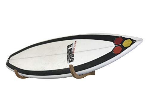COR Surf Bamboo Surfboard Wall Mount | The Original Single Surf Rack Now in Bamboo!