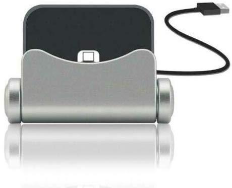 Generic N4U Online Premium Ladestation Sync Dock Ständer Halter für Elefon S3 - Silbern